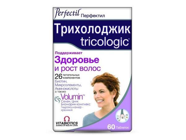 Перфектил витамины для волос инструкция