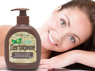 Дегтярное мыло для роста волос на лице