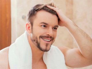Шампунь против выпадения волос и перхоти для мужчин