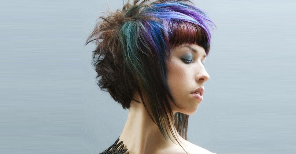 Кому подходит эпатажная стрижка треш, техники выполнения и укладки на разную длину волос