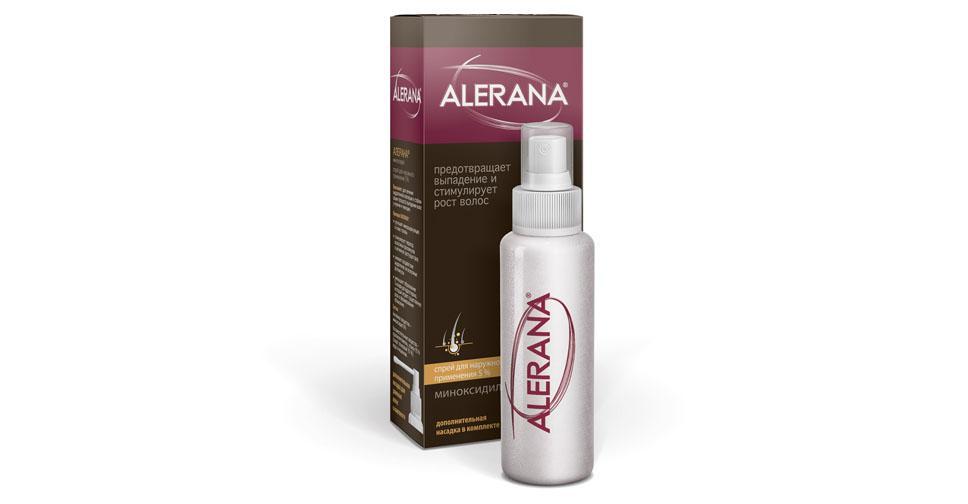 Средство для укрепления волос алерана