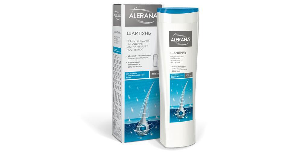 Шампунь для волос алерана против выпадения волос