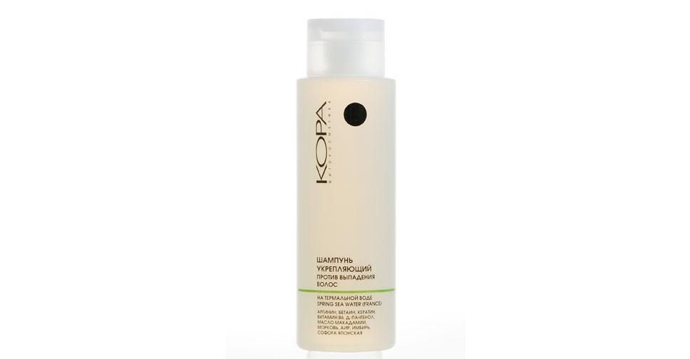 кора шампунь укрепляющий против выпадения волос