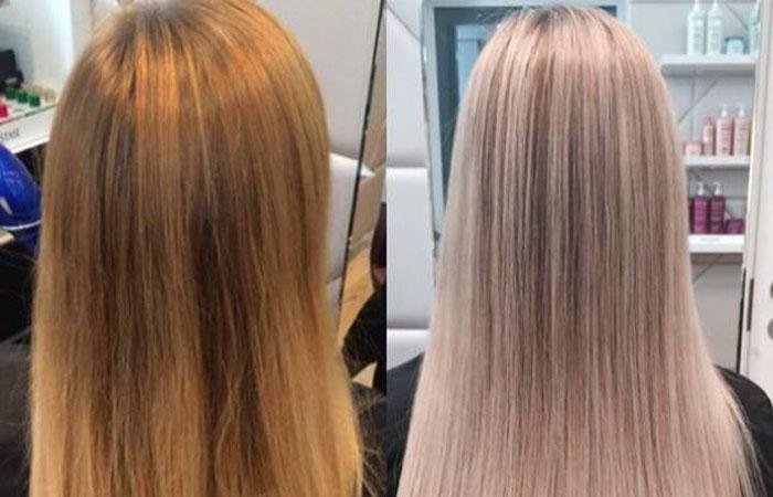 Бежевый каштан цвет волос фото