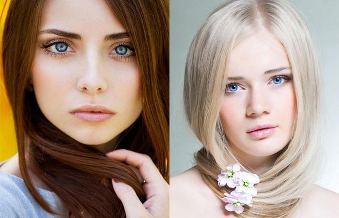 Голубоглазые дамы, а вы знаете какой цвет волос подходит вам?