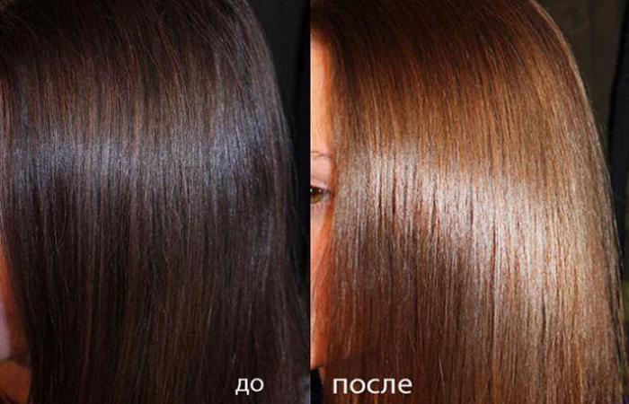 Какой лучше краской осветлить темные волосы