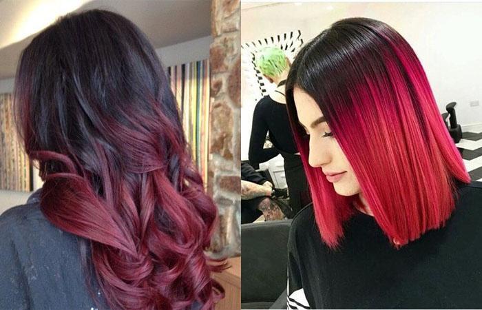 Как сделать ярко красные волосы фото 883