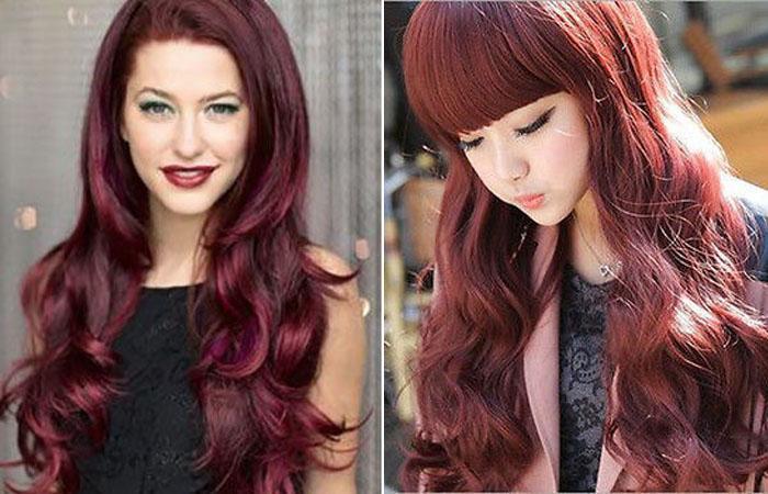 Как сделать ярко красные волосы фото 560