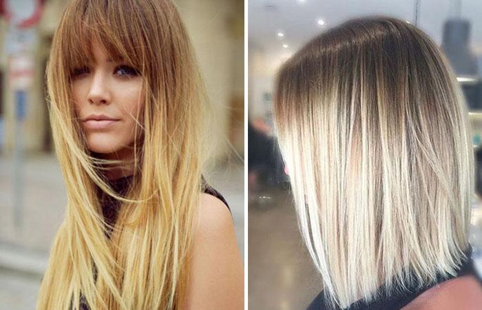 Окрашивание волос из темного в светлый натуральными красителями
