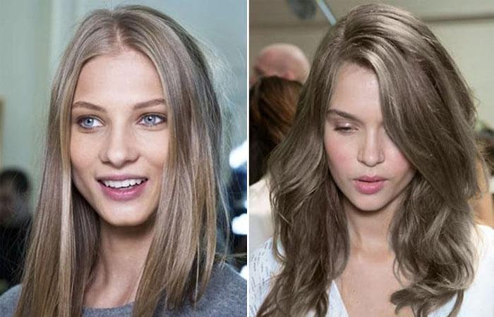 1044-9798 Темно русый цвет волос оттенки и методы окрашивания Фото