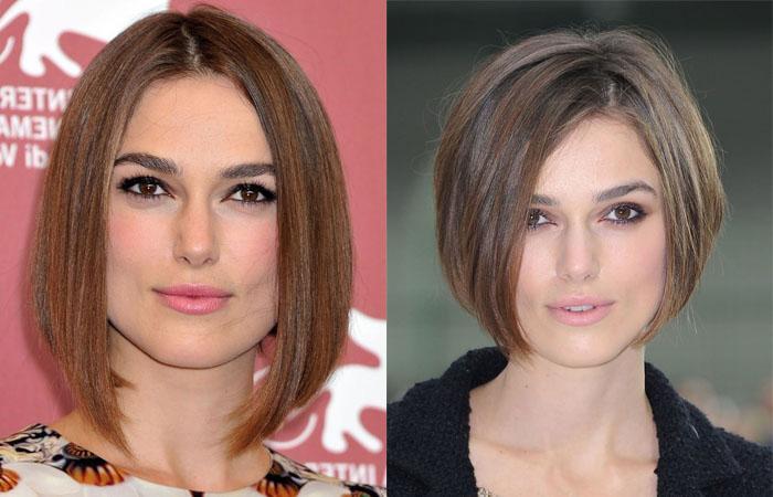Стрижки по форме лица для женщин старше 30, 40