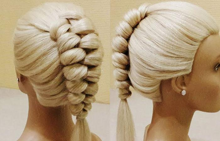 Голландская коса пошагово