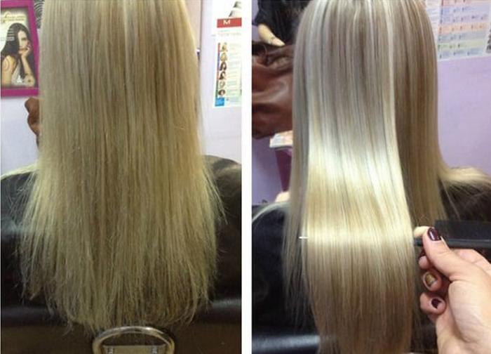 ламинирование волос концепт инструкция