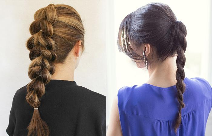 Деловые прически на длинные волосы фото
