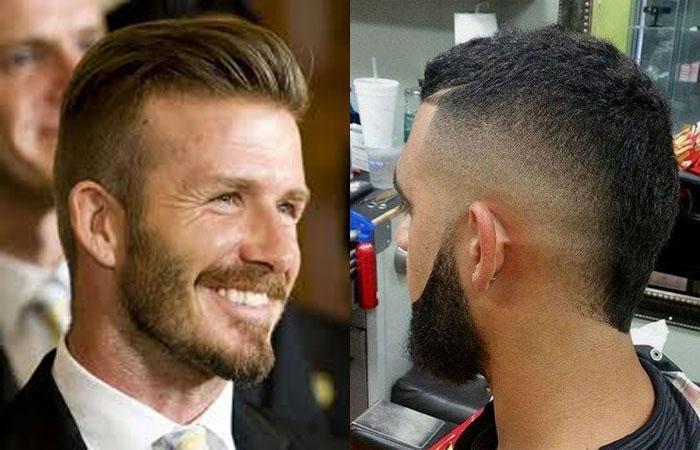 Популярные мужские причёски с треугольником