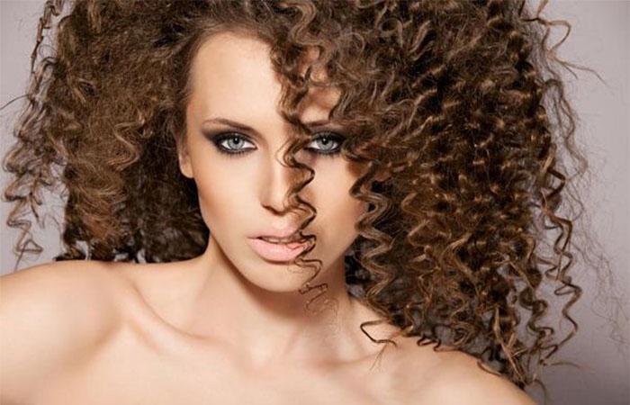 Как сделать локоны на густые волосы фото 602