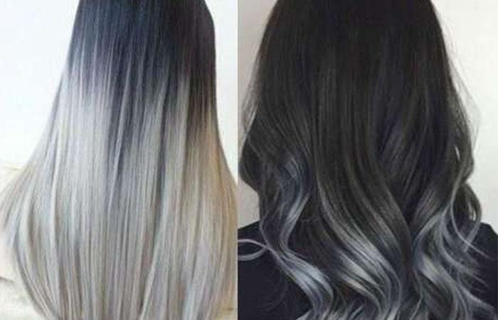Как сделать омбре на темные волосы фото 454