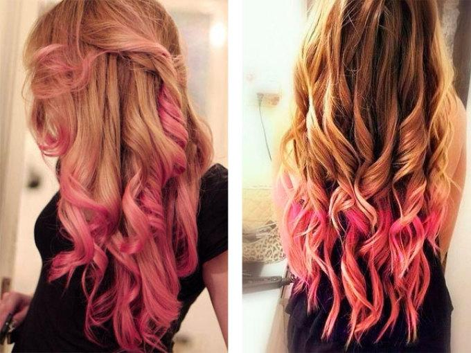 Розовые волосы, реально ли это? 460