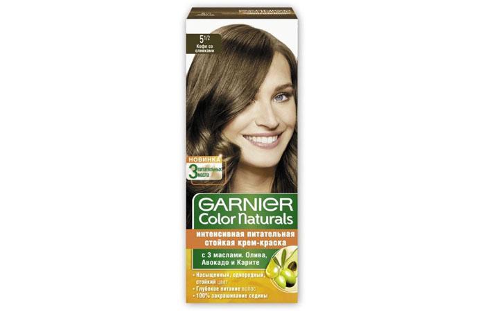 Гарньер пшеница на темные волосы