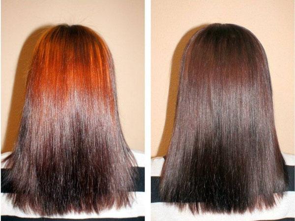 Окраска волос натуральными красителями кофе