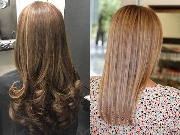 Окраска волос на фольге — photo 10