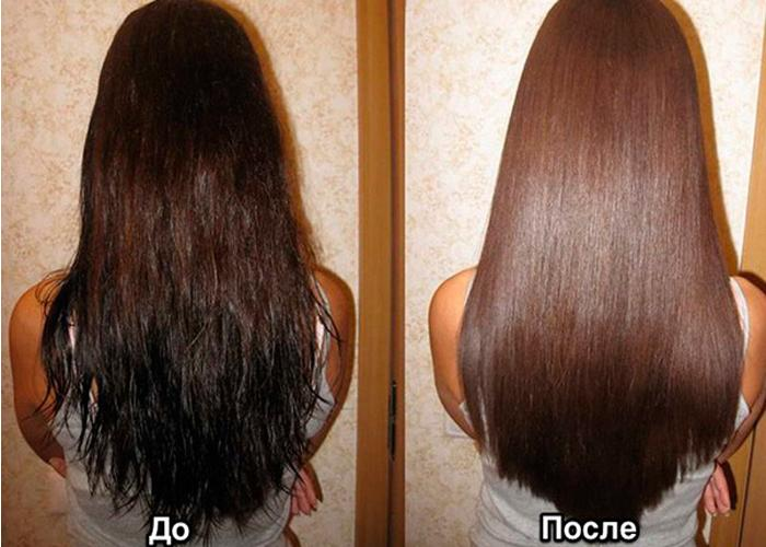 Восстановление волос кератином без выпрямления в домашних условиях