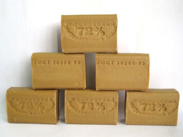 глисты и хозяйственное мыло