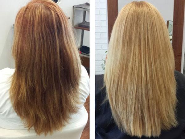 Можно ли осветлить волосы сразу после окрашивания оттеночным бальзамом