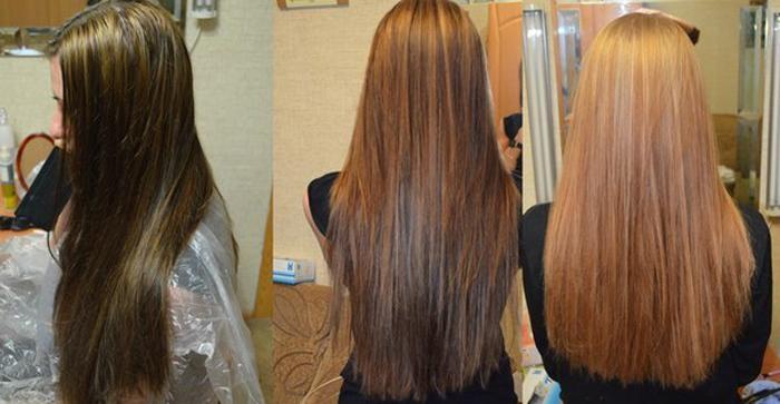 Как черные волосы сделать светлее и смыть цвет народными средствами