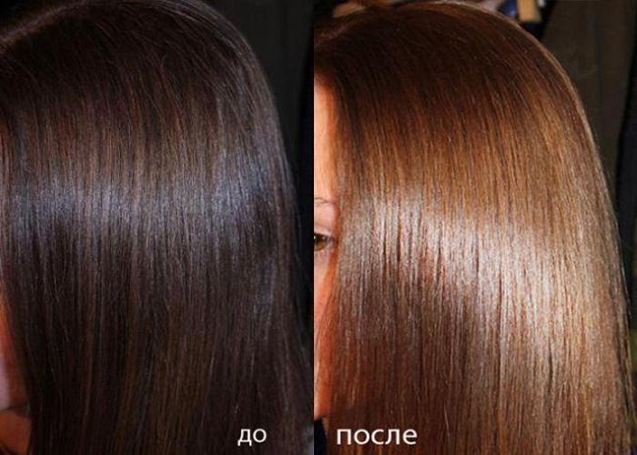 Чем осветлить крашенные черные волосы