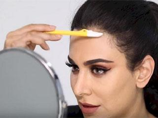 коррекция линии роста волос на лбу лазером
