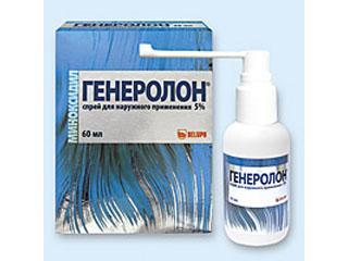 Спрей генеролон от выпадения волос отзывы