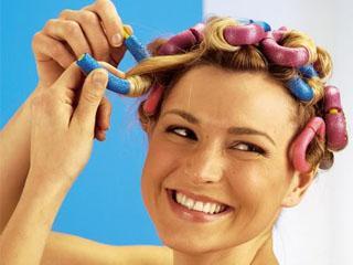 Бигуди липучки для тонких волос