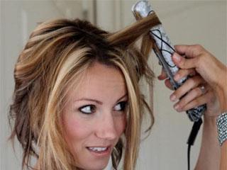 Прическа утюжком на средние волосы фото