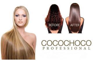 Выпрямление волос коко чоко