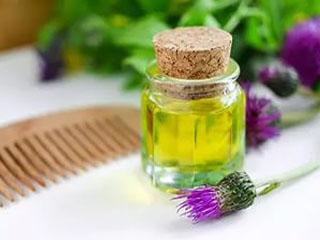 Репейное масло для лечения волос
