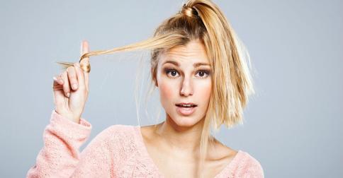Восстановление волос после осветления