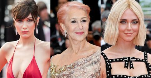 Самые яркие hair-преображения ради Каннского фестиваля за всю историю его существования