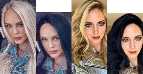 Преображение с Face App: как бы выглядели знаменитые блондинки с темными волосами