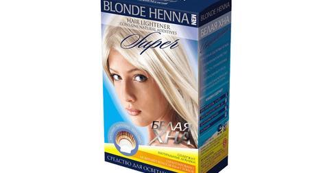 Белая хна для осветления волос