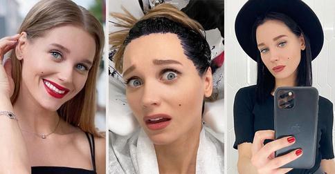 8 русских звёзд, которые кардинально изменили прическу в 2020