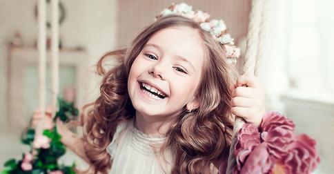 Как накрутить волосы ребенку