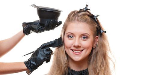 тонирование волос после мелирования
