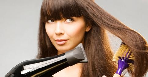 как придать грязным волосам чистый вид