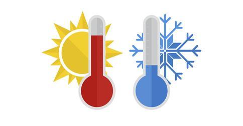 Какое влияние оказывают высокие и низкие температуры