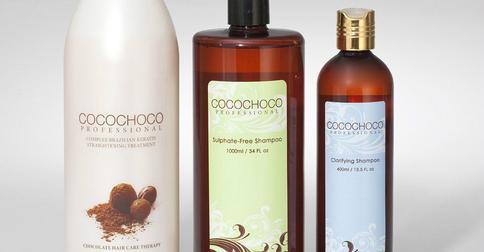 Выпрямление волос кератином Сocochoco