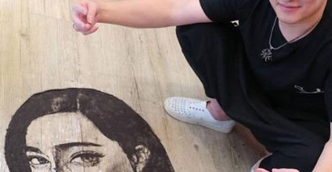 Художник во всех смыслах: тайваньский парикмахер создает шедевры из состриженных волос клиентов