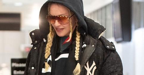 Косички для путешествий — звездный тренд от Мадонны