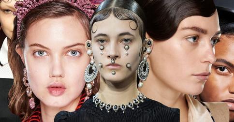 Модный акцент: показ Burberry отличился уникальными узорами из волос