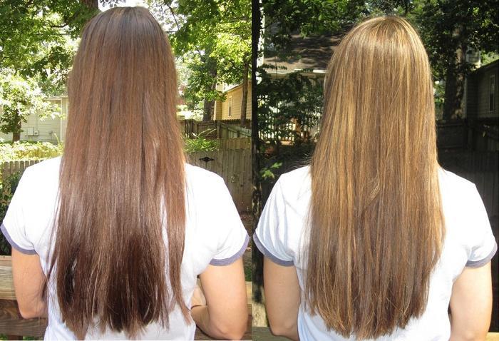 Как осветлить волосы окрашенные в домашних условиях